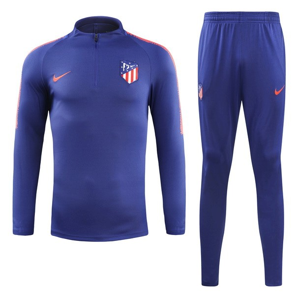 Chandal Atletico Madrid 2018/2019 Azul Replicas Futbol